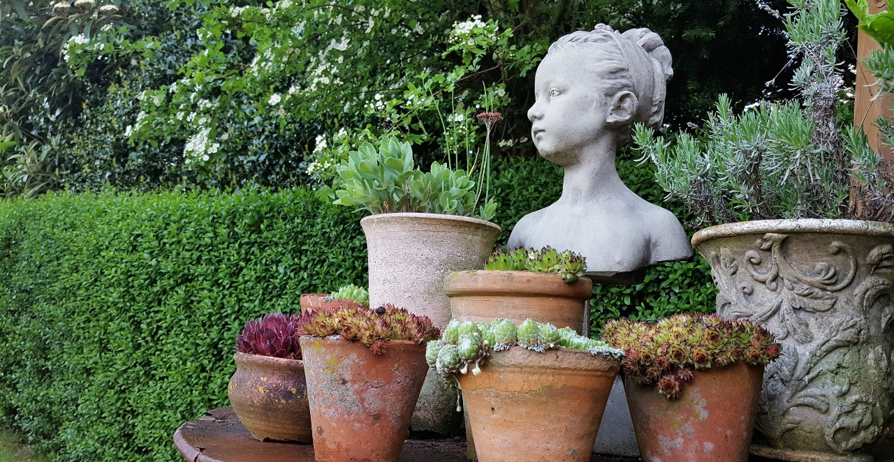 Romantik Skulpturen Steinguss