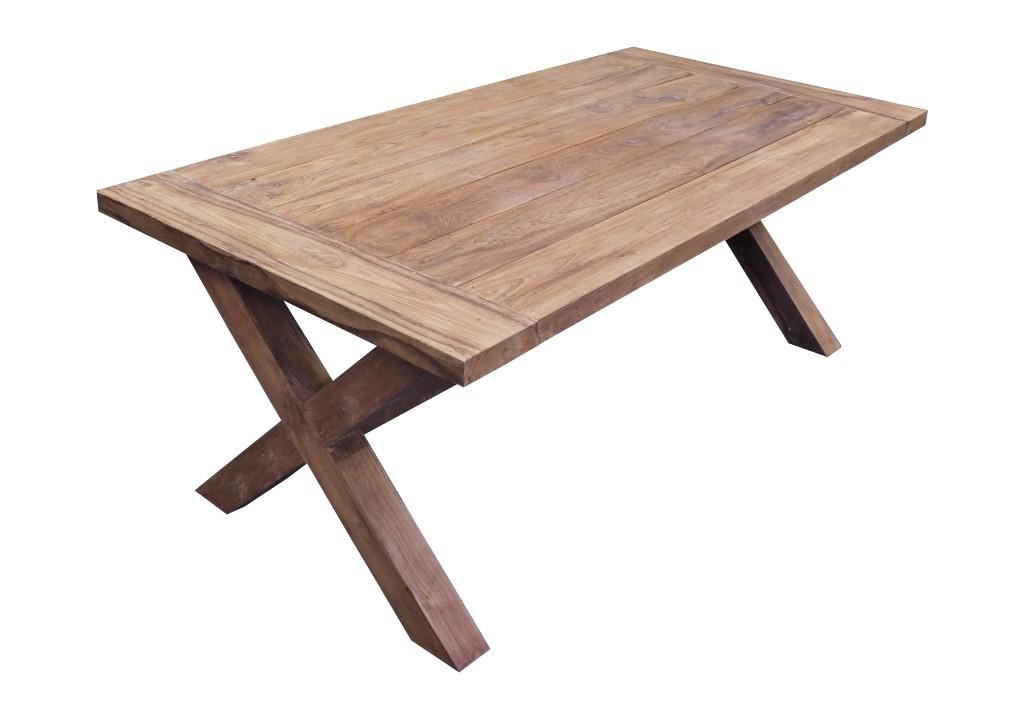 teak gartentisch brahn 200cm vollwaren. Black Bedroom Furniture Sets. Home Design Ideas