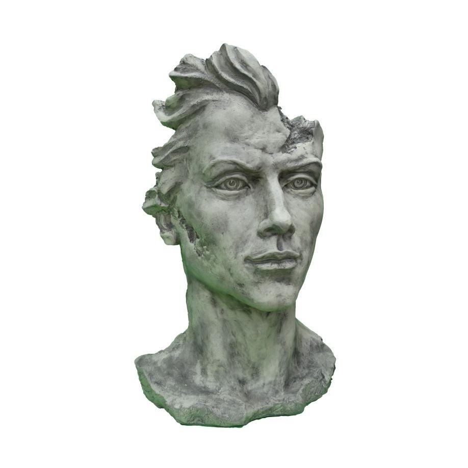 Skulptur Gesicht Mann 2 Steinguss