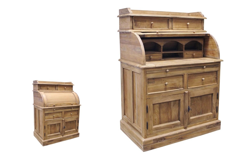 Teak Sekretär SE41-1B Ladydesk big Schreibtisch