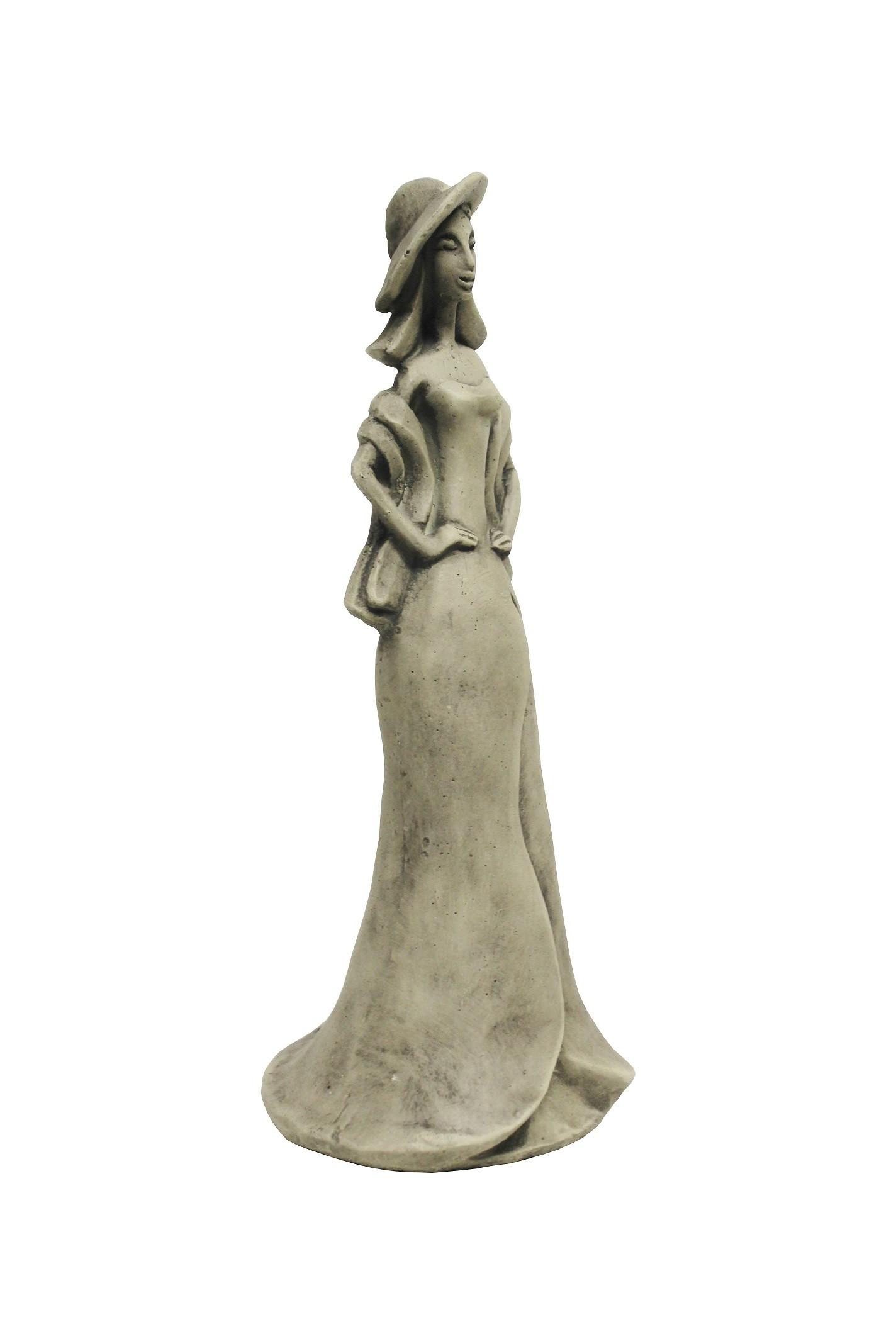 Skulptur Blütentänzerin Calla