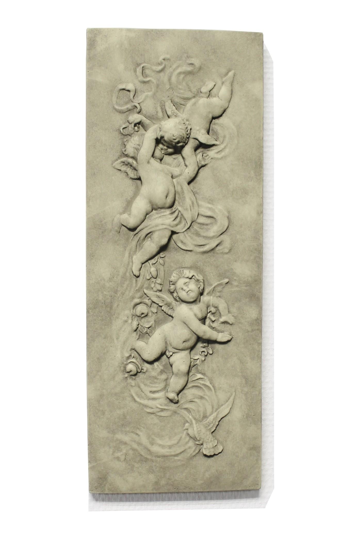 Motivplatte Engelreigen Steinguss 4,5 kg