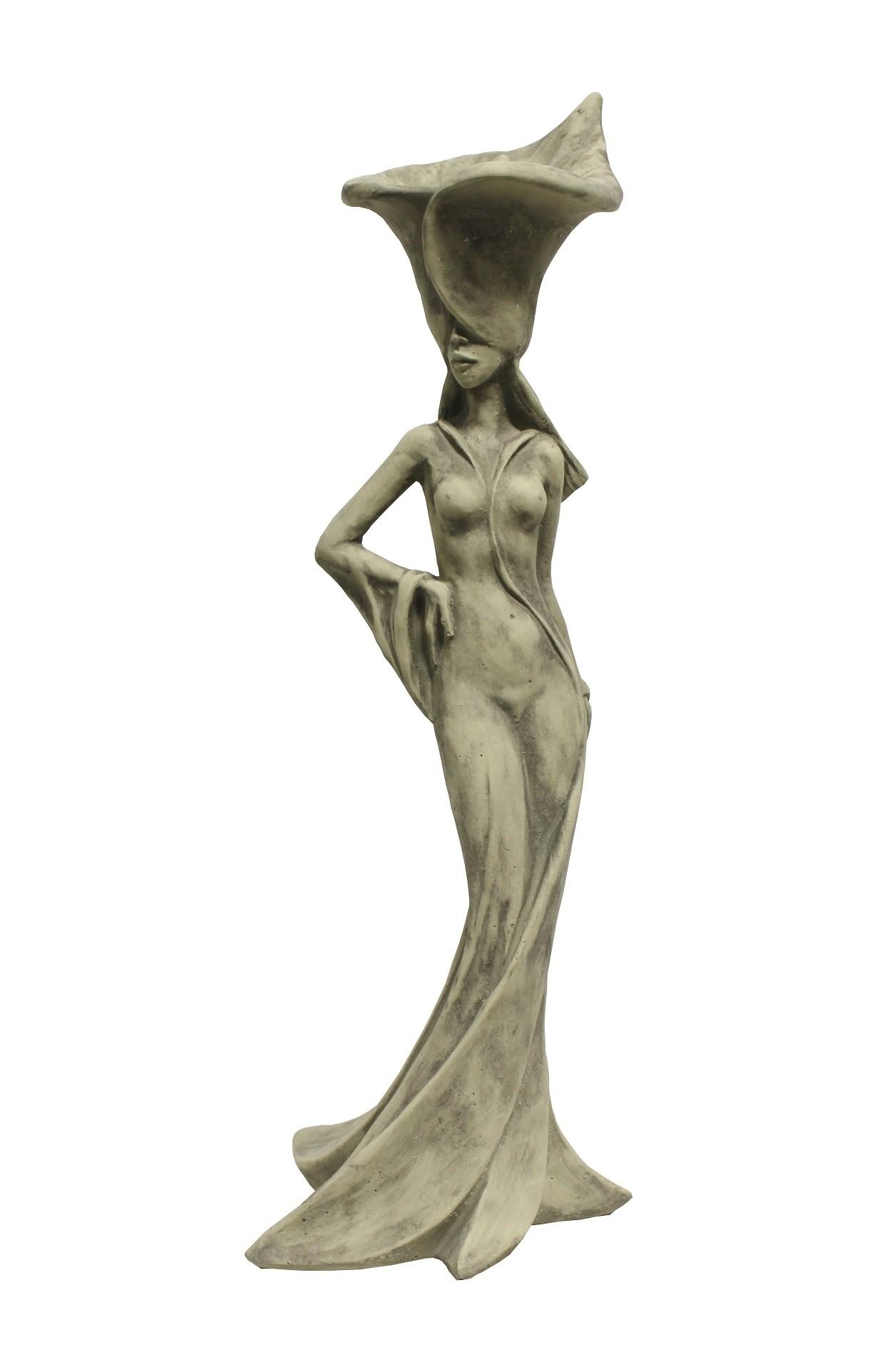 Skulptur Silhouettes de Fleurs Calla