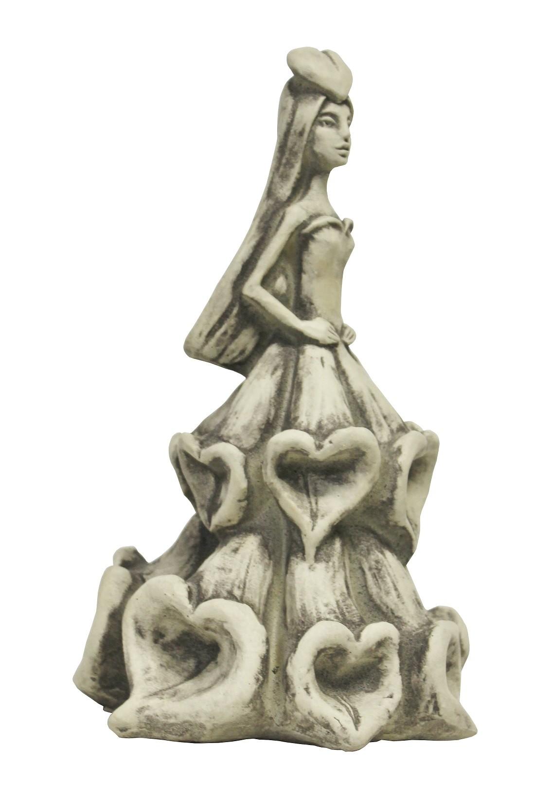 Skulptur Blütentänzerin Fingerhut
