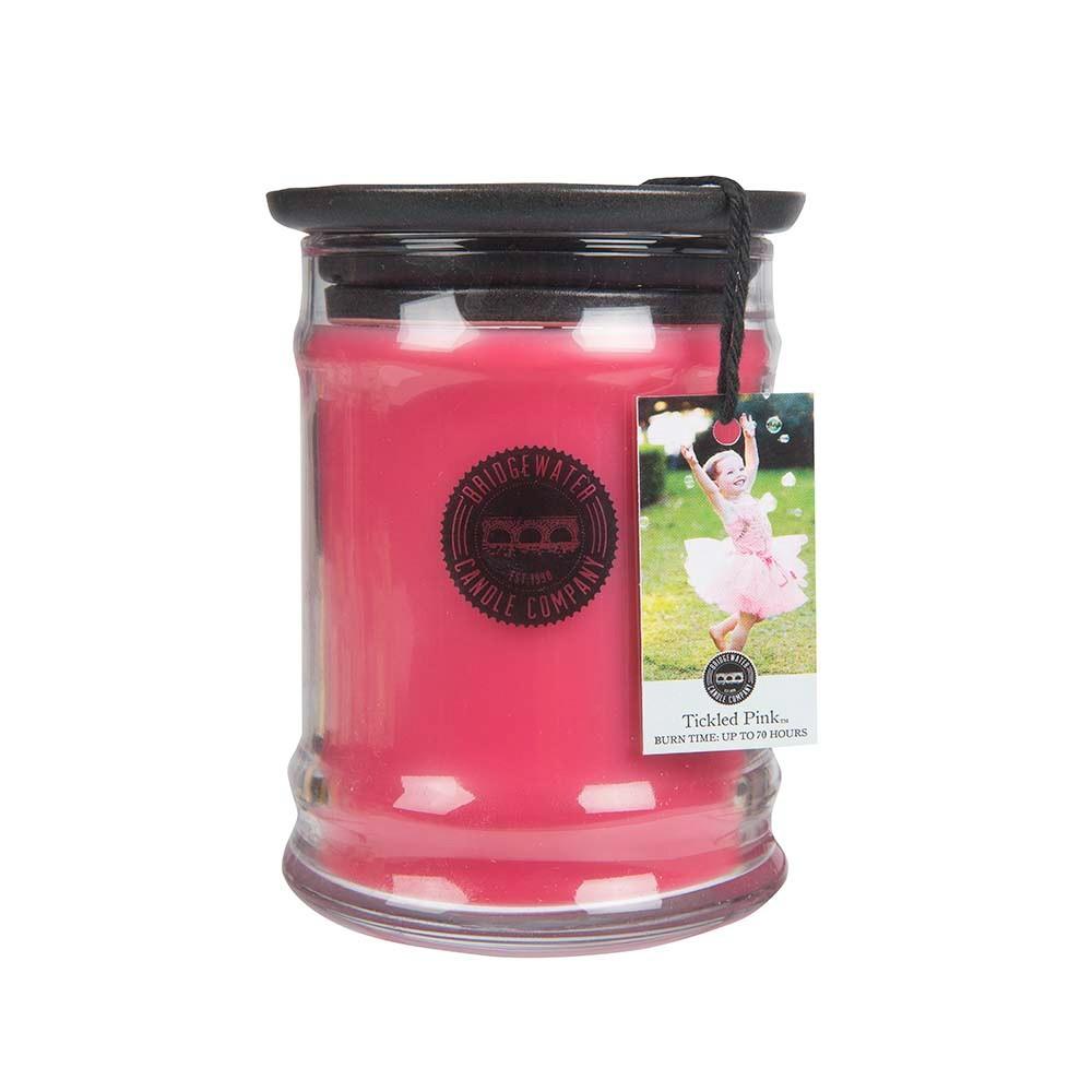 Duftkerze Tickled Pink klein 250g Bridgewater Candle Df