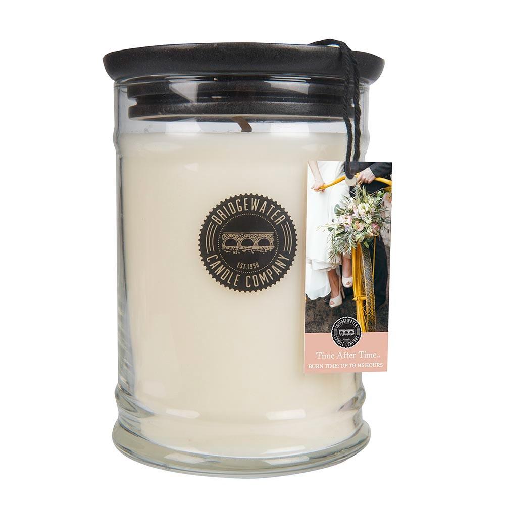 Duftkerze Time After Time groß 524g Bridgewater Candle