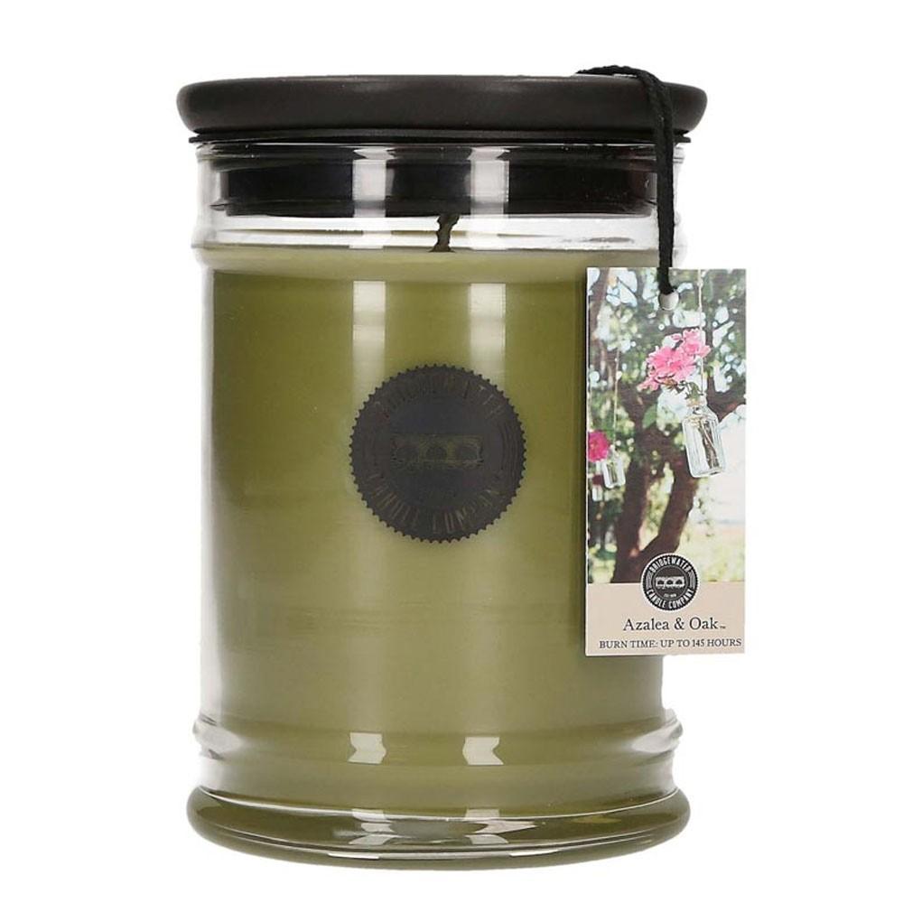 Duftkerze Azalea & Oak groß 524g Bridgewater Candle