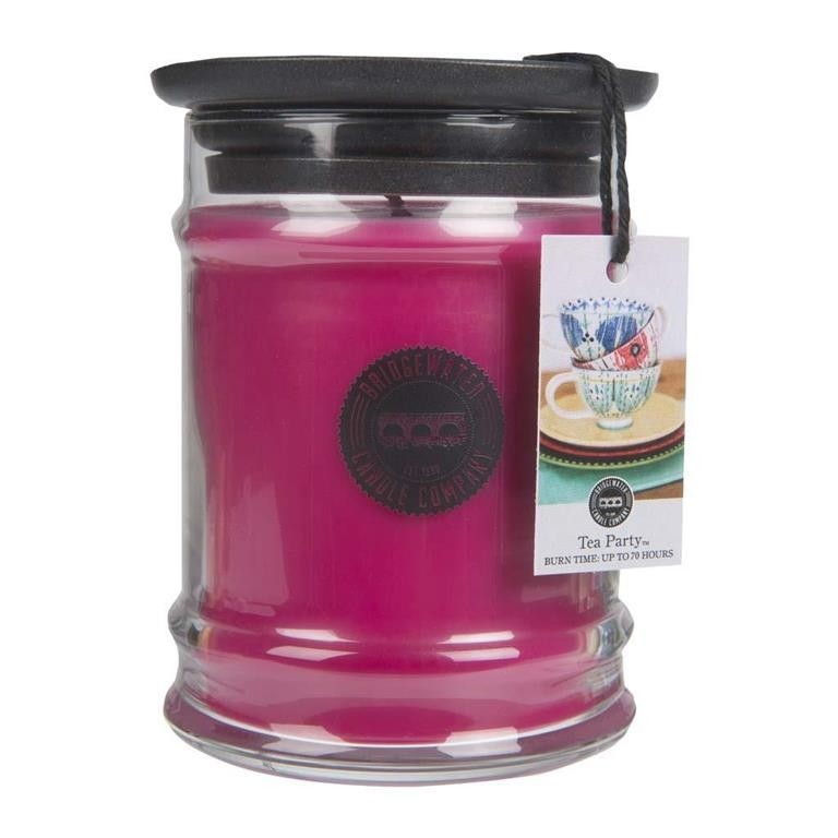 Duftkerze Tea Party klein 250g Bridgewater Candle