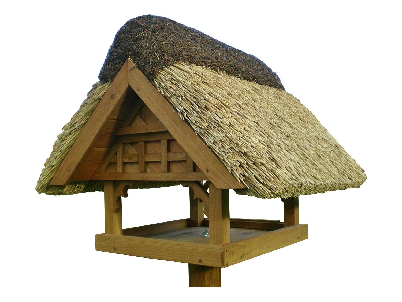 Danzig Kiefer ohne Ständer Reetdach Vogelhaus