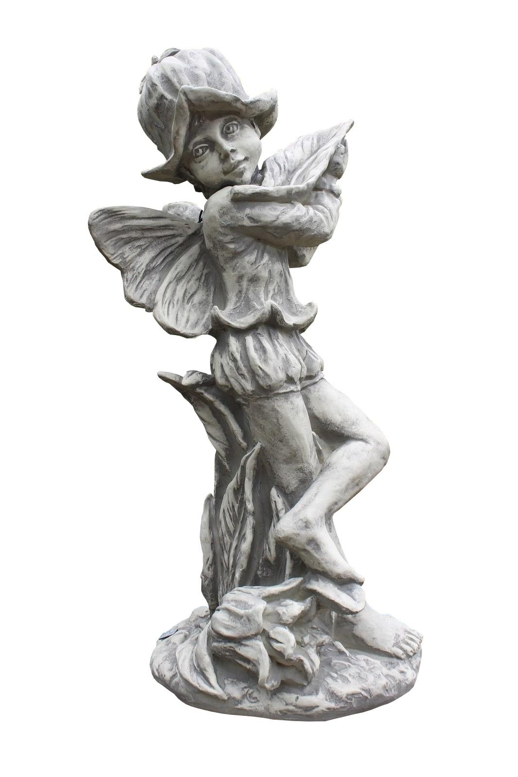 Skulptur Elfe Glockenblume