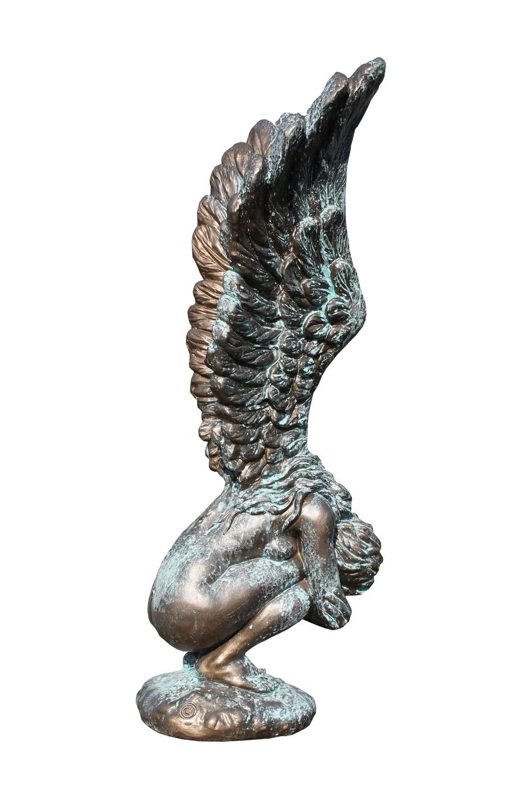 Skulptur Engel Rachel BRONZE 71 cm