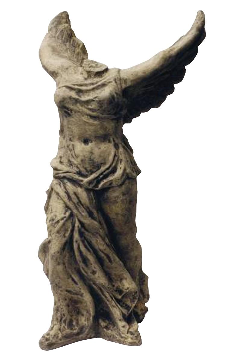 Skulptur Engel Siegesgöttin Nike 300kg Steinguss