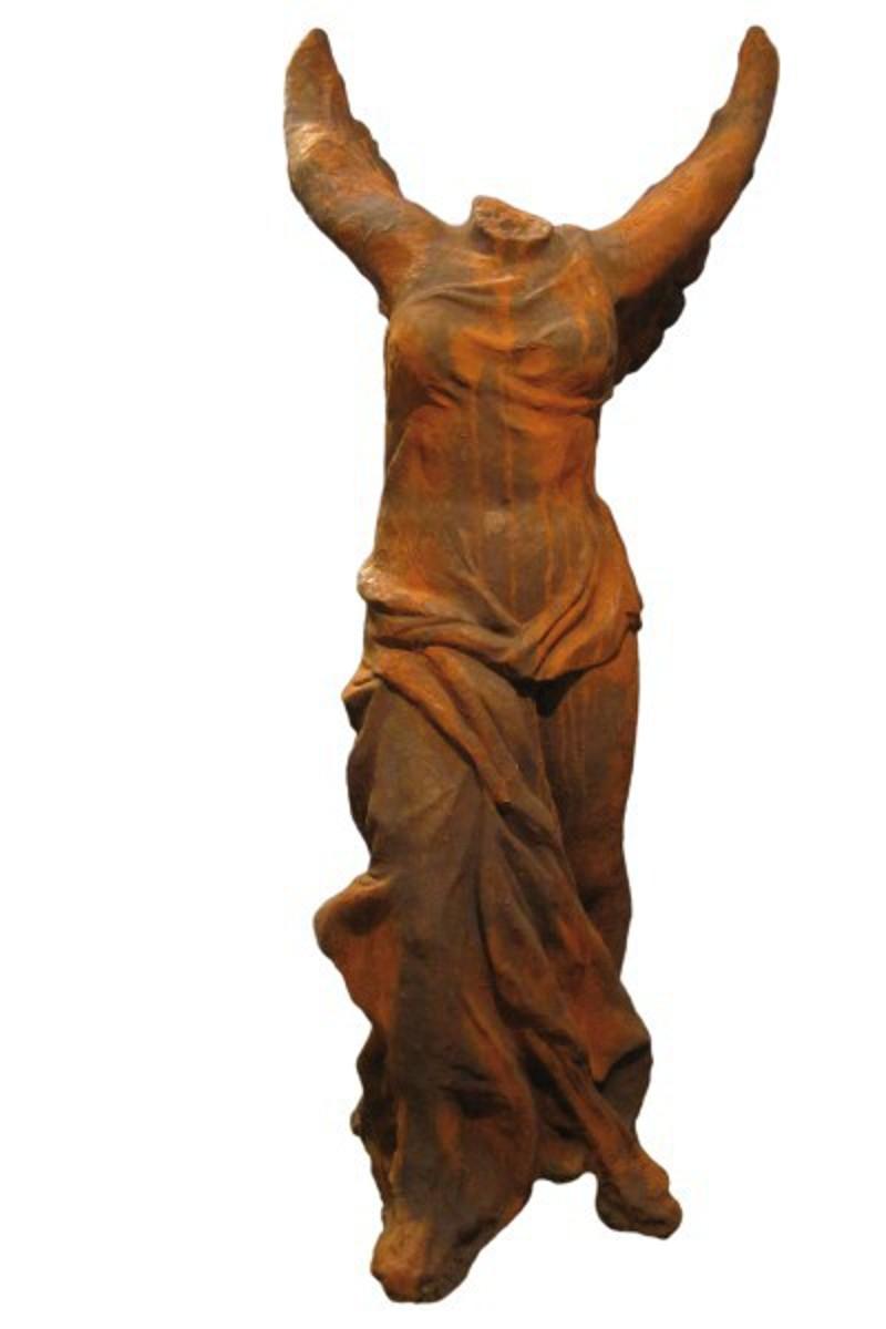 Skulptur Engel Siegesgöttin Nike 300kg OXID