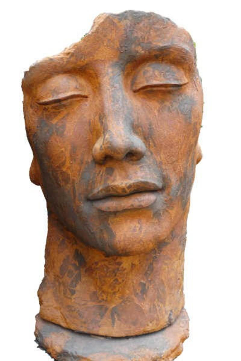 Skulptur Gesicht Mann OXID
