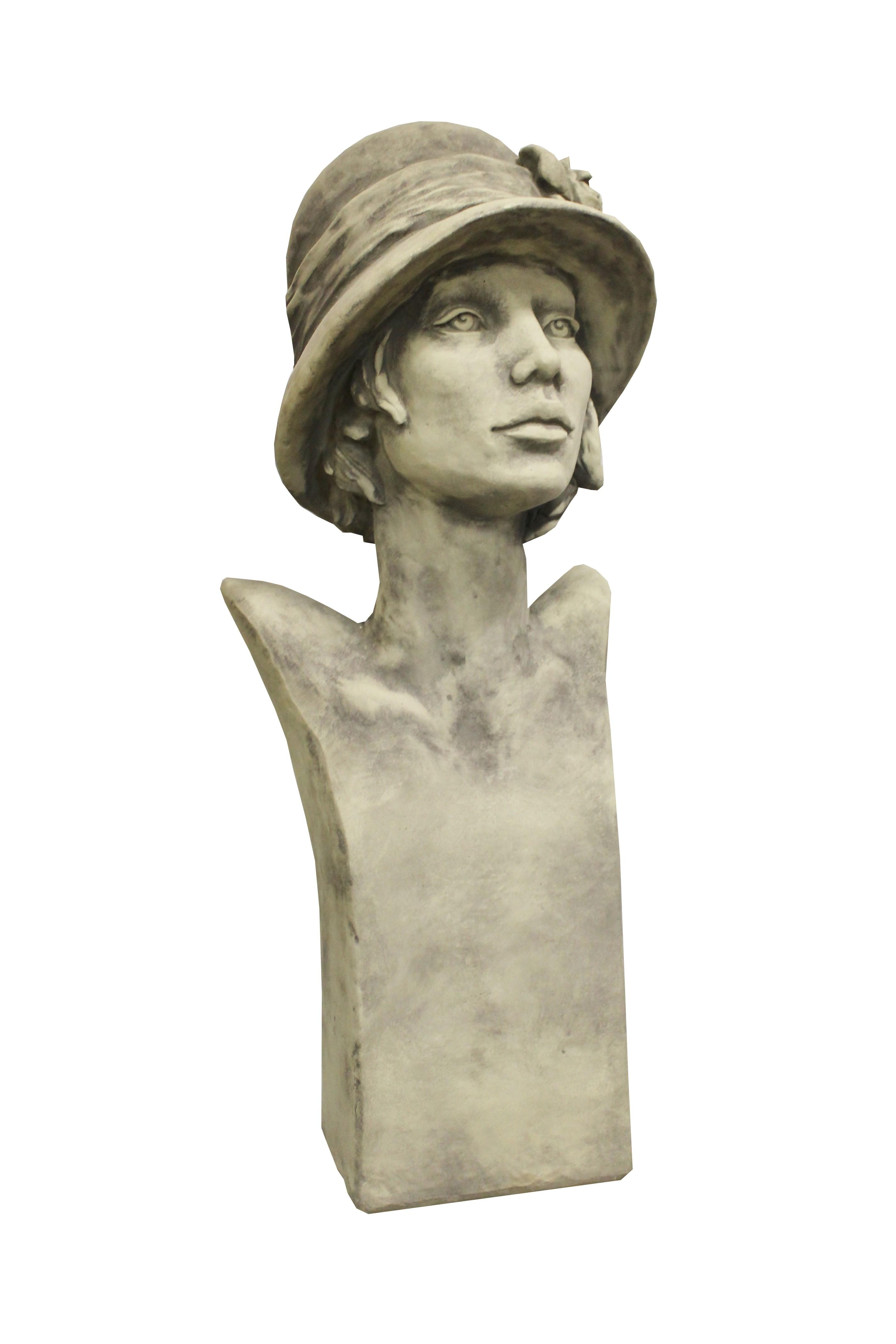 Skulptur Büste Art Deco Sisala