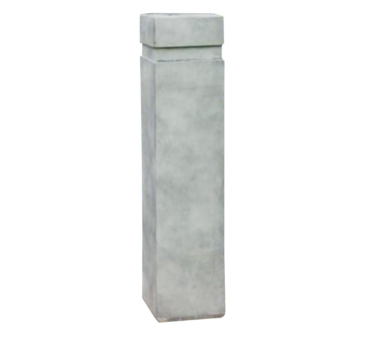 Sockel Podest Steinguss für Büste schmal