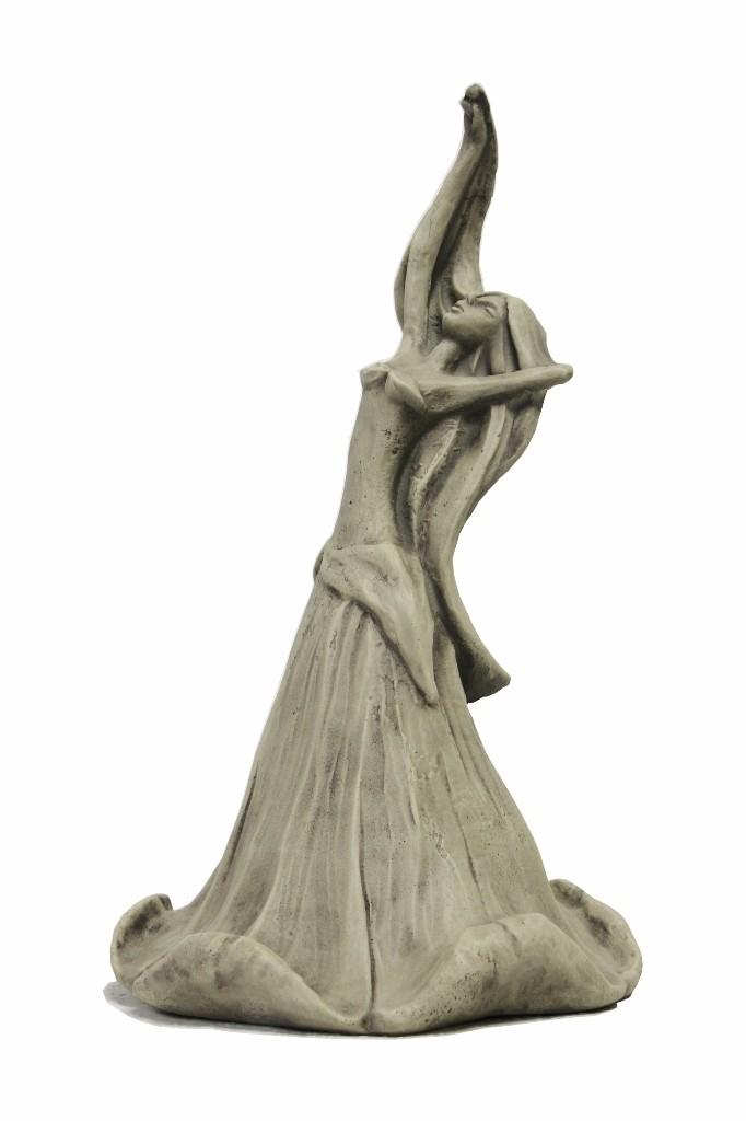 Skulptur Blütentänzerin Ackerwinde
