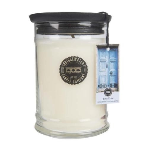 Duftkerze Blue Door groß 524g Bridgewater Candle