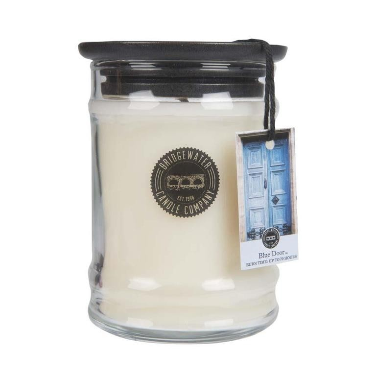 Duftkerze Blue Door klein 250g Bridgewater Candle