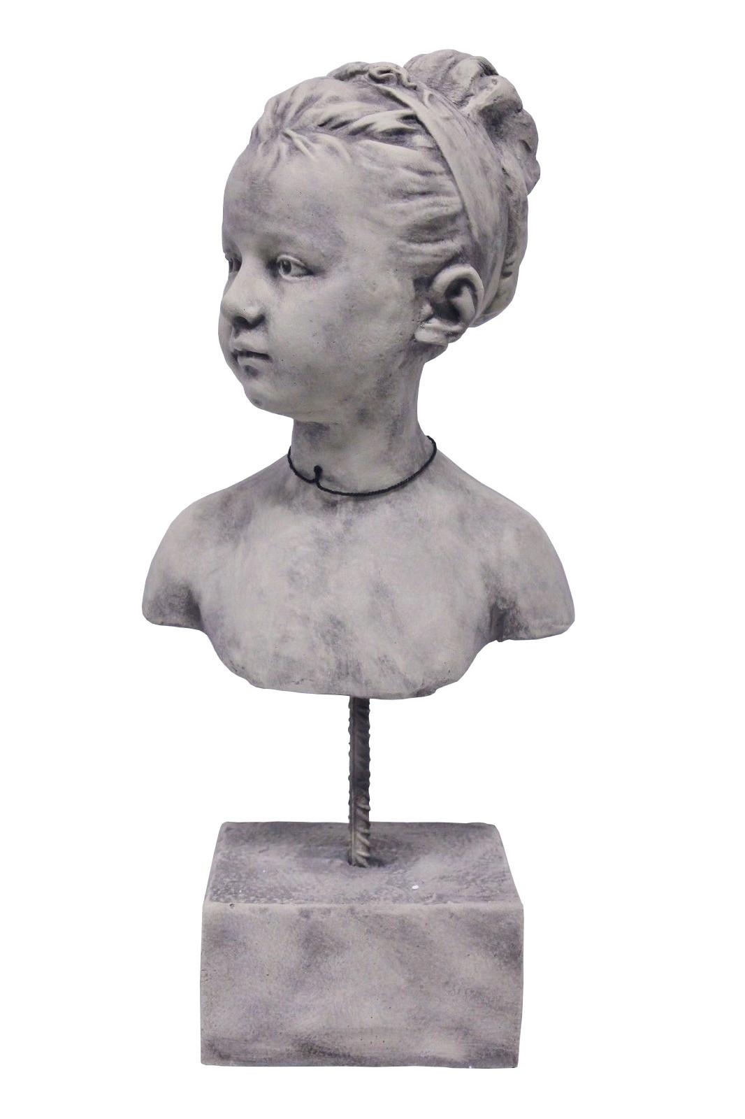 Skulptur Mädchen Katharina