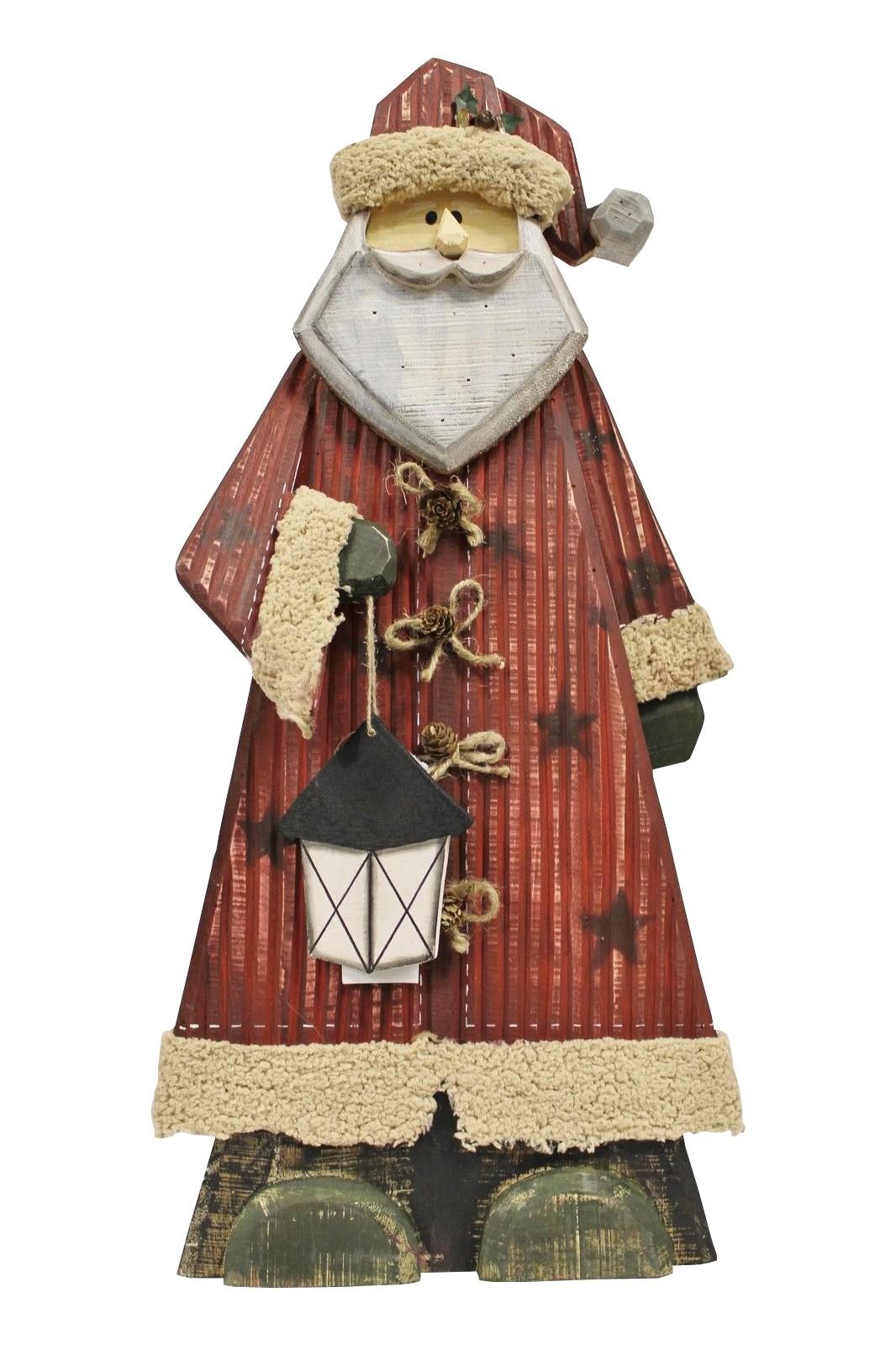 Deko Figur Weihnachtsmann