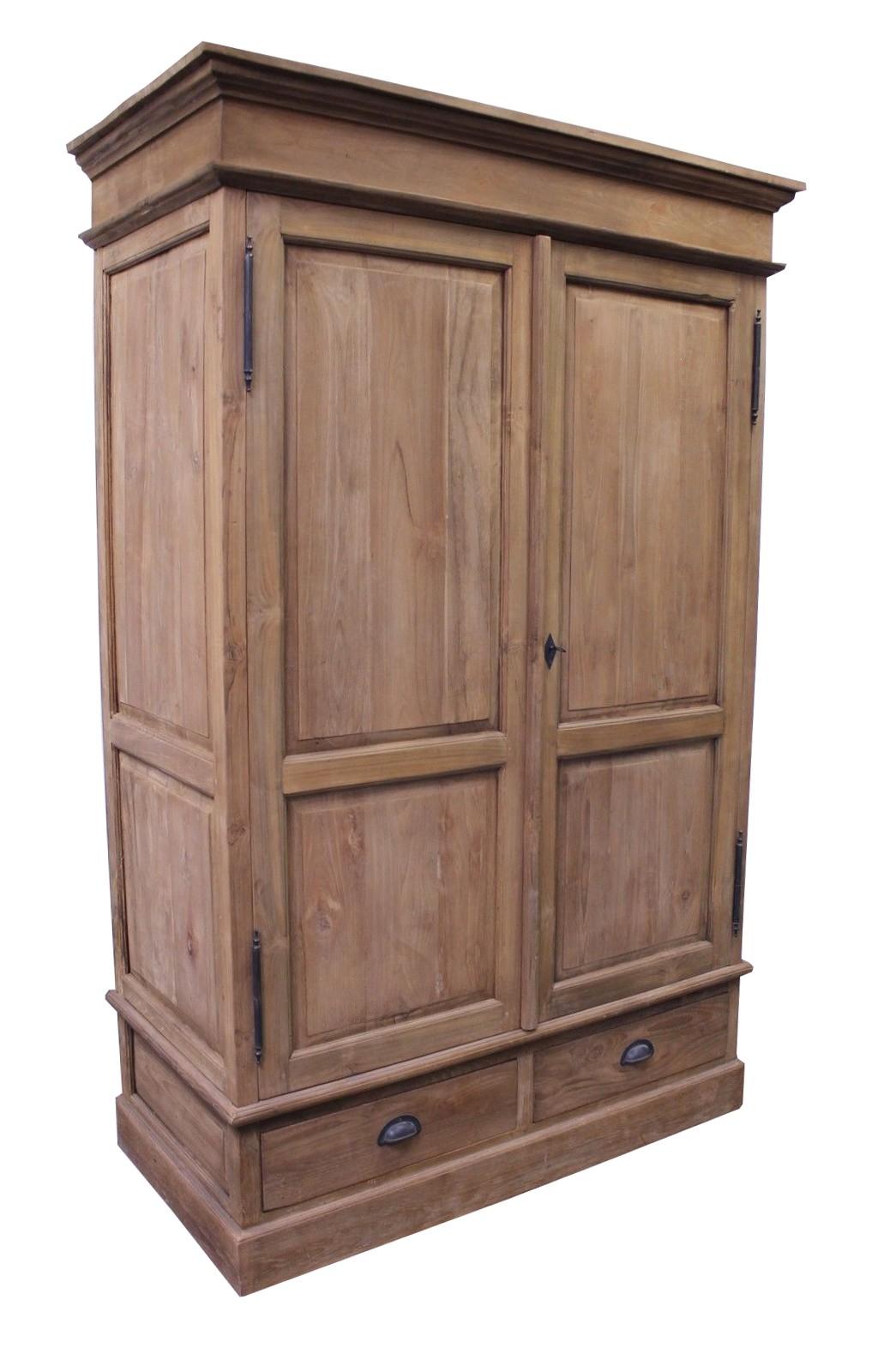 Teak Dielenschrank SE45-3 120-180 cm