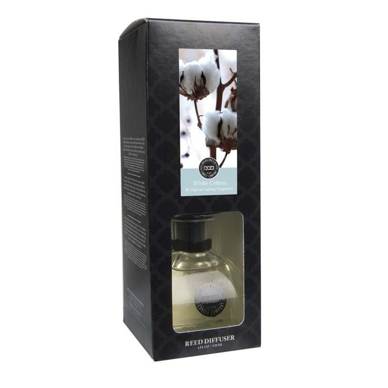 Reed Diffuser White Cotton 120 ml Öl Bridgewater Candle