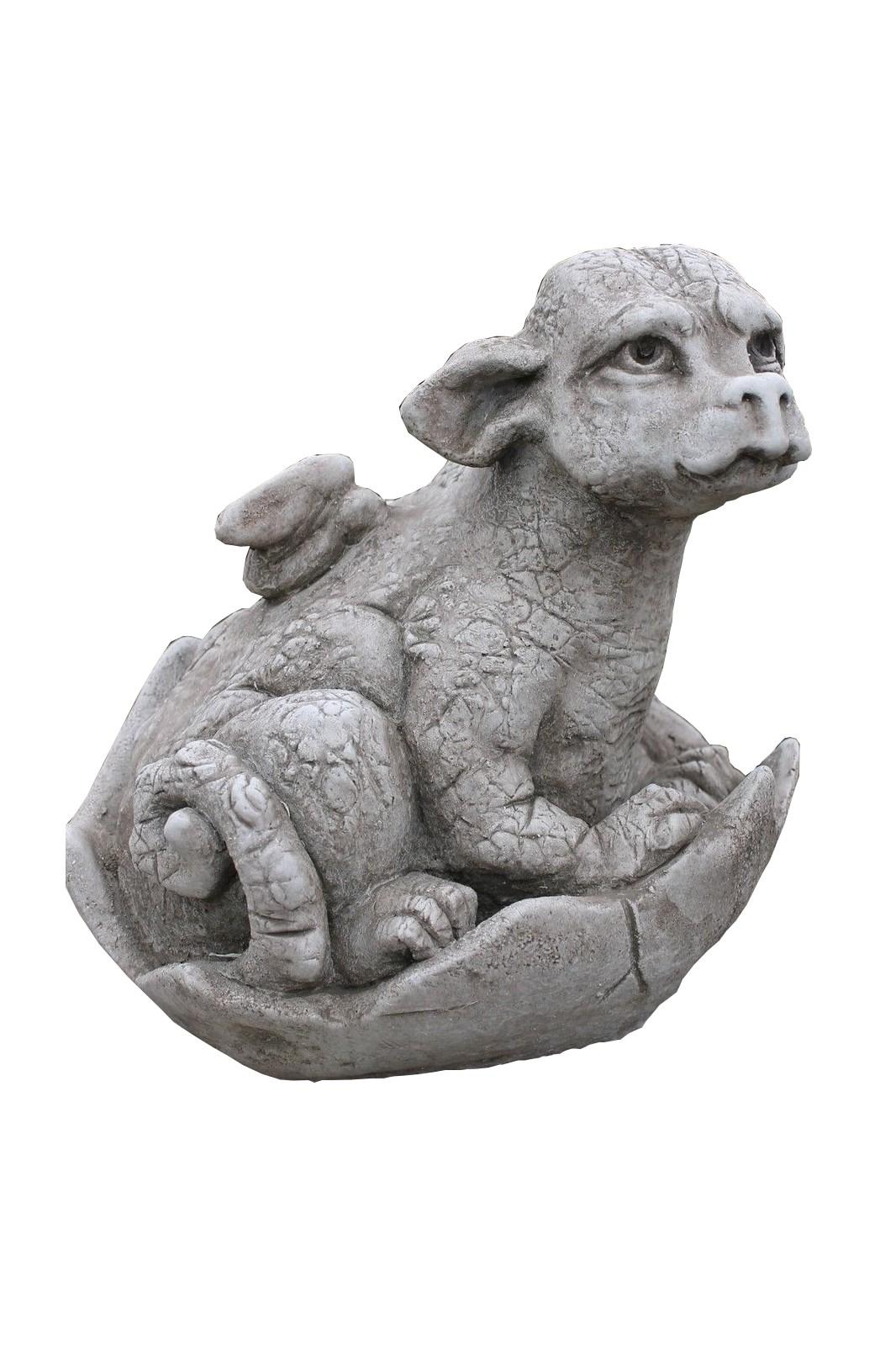 "Skulptur Drachenbaby ""Saraphir"""