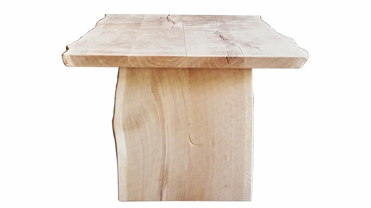 Eiche Esstisch Stone   Baumtisch  in vielen Größen und Ausführungen