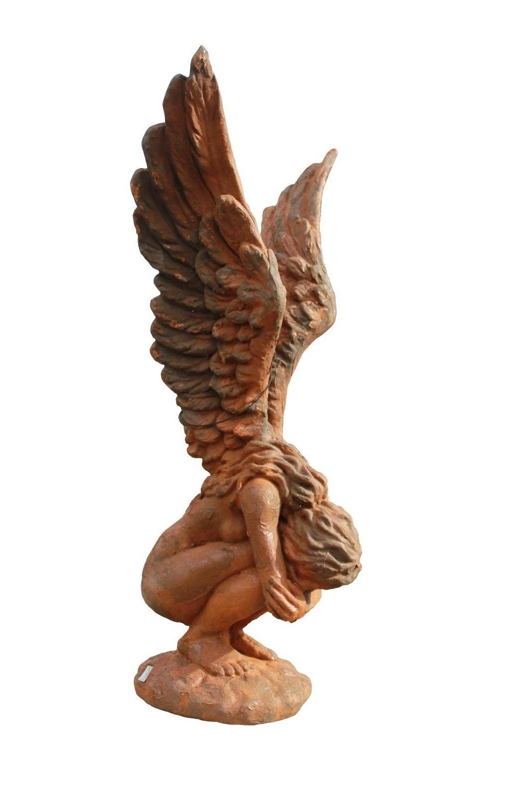 Skulptur Engel Rachel OXID 114 cm