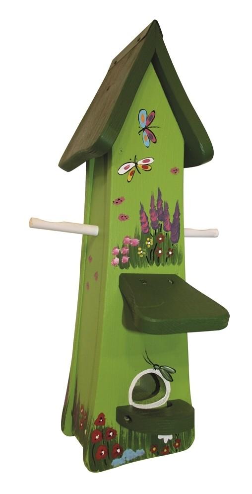 Gartenzauber Futtertürmchen kiwigrün von Die Vogelvilla