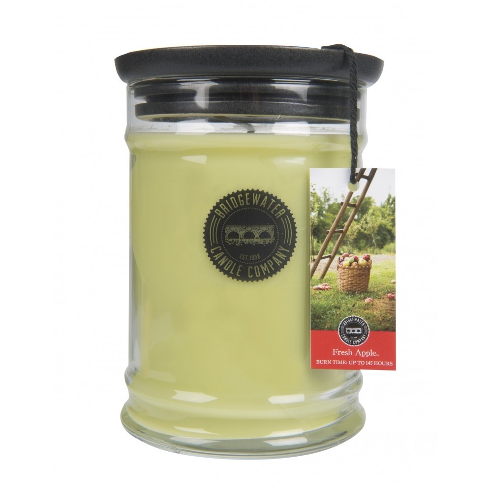 Duftkerze Fresh Apple groß 524g Bridgewater Candle