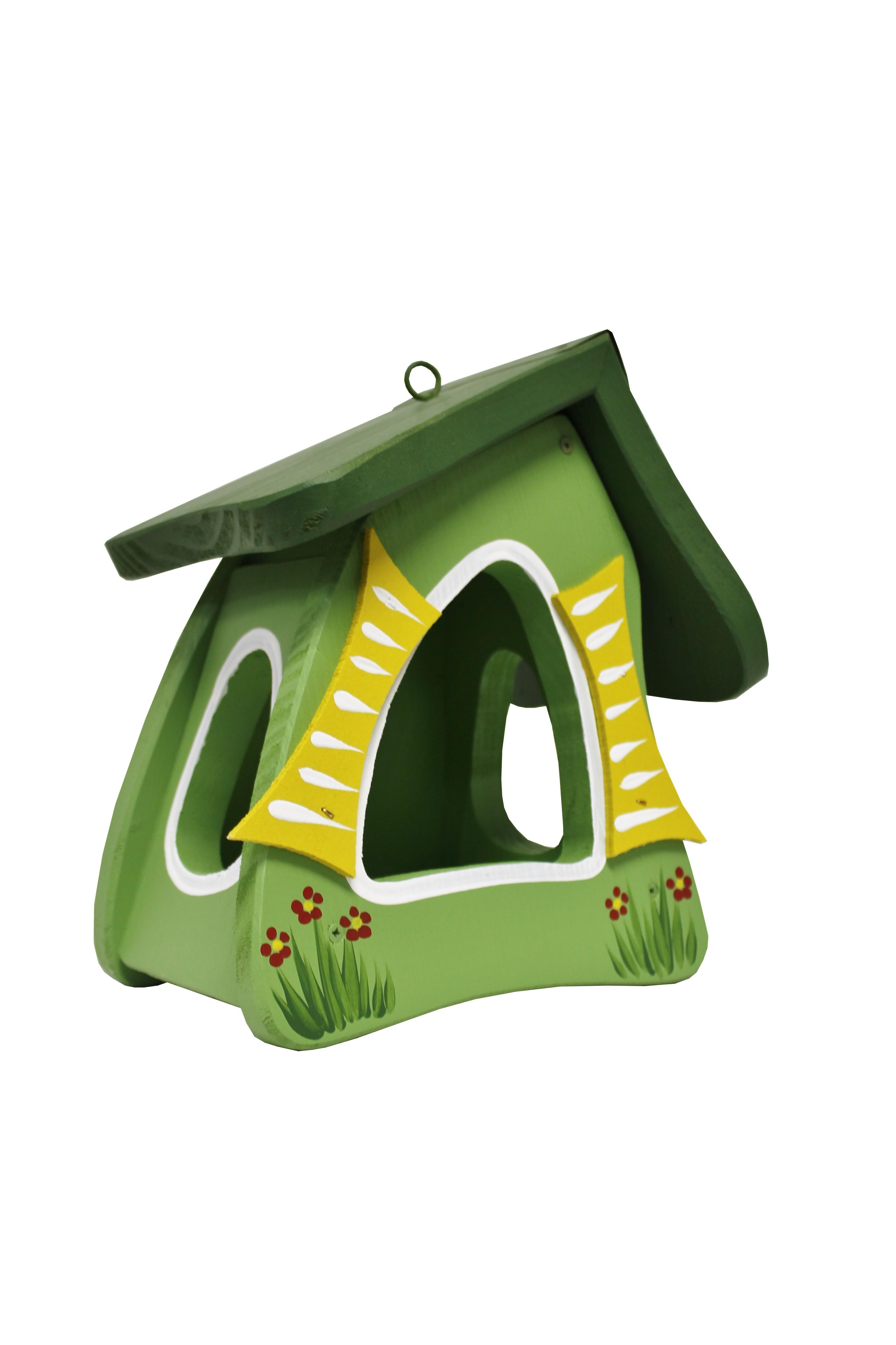Hobbit grün Futtermini von Die Vogelvilla
