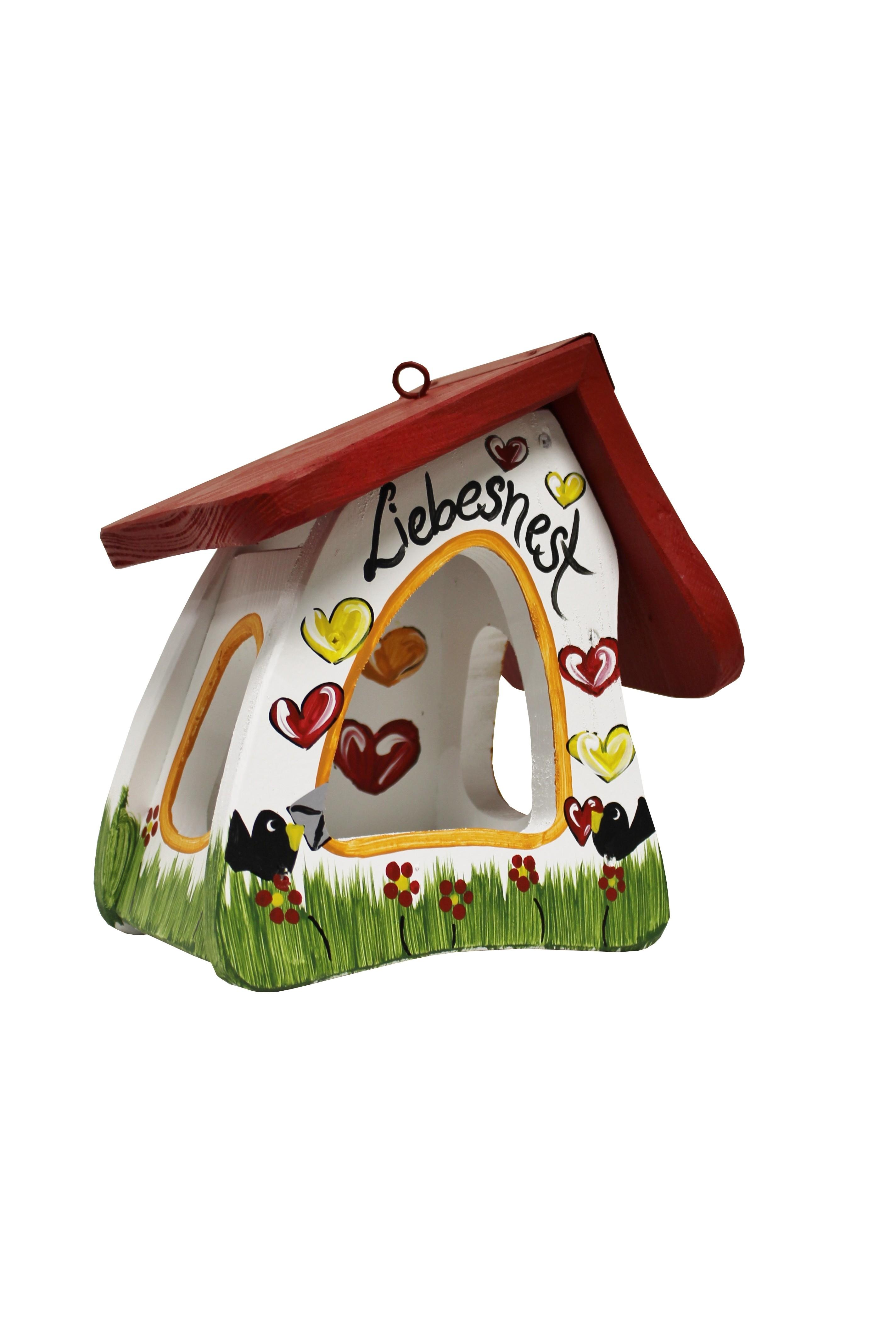 Futtermini Liebesnest Brief von Die Vogelvilla