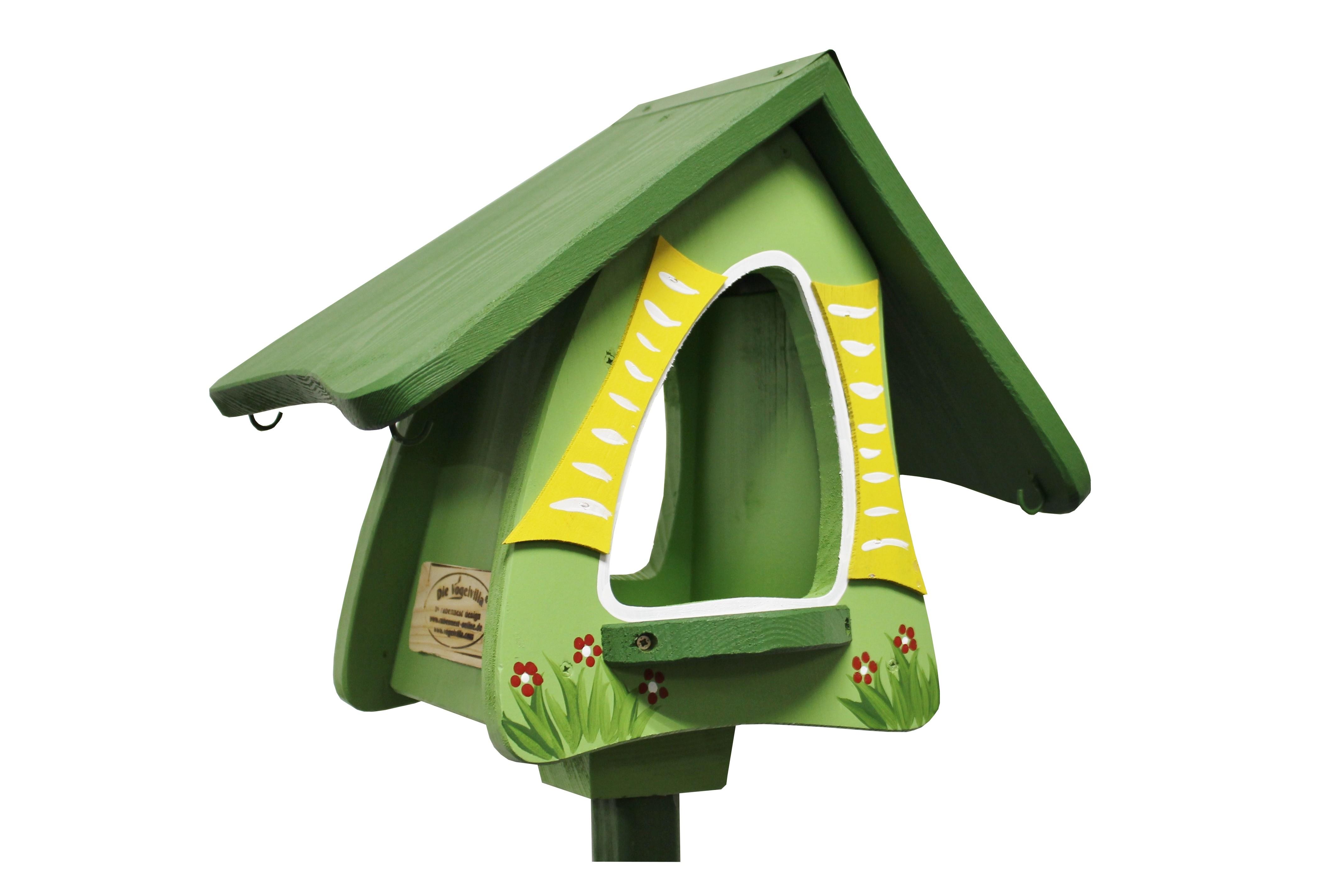 Futterhobbit stehend grün von Die Vogelvilla
