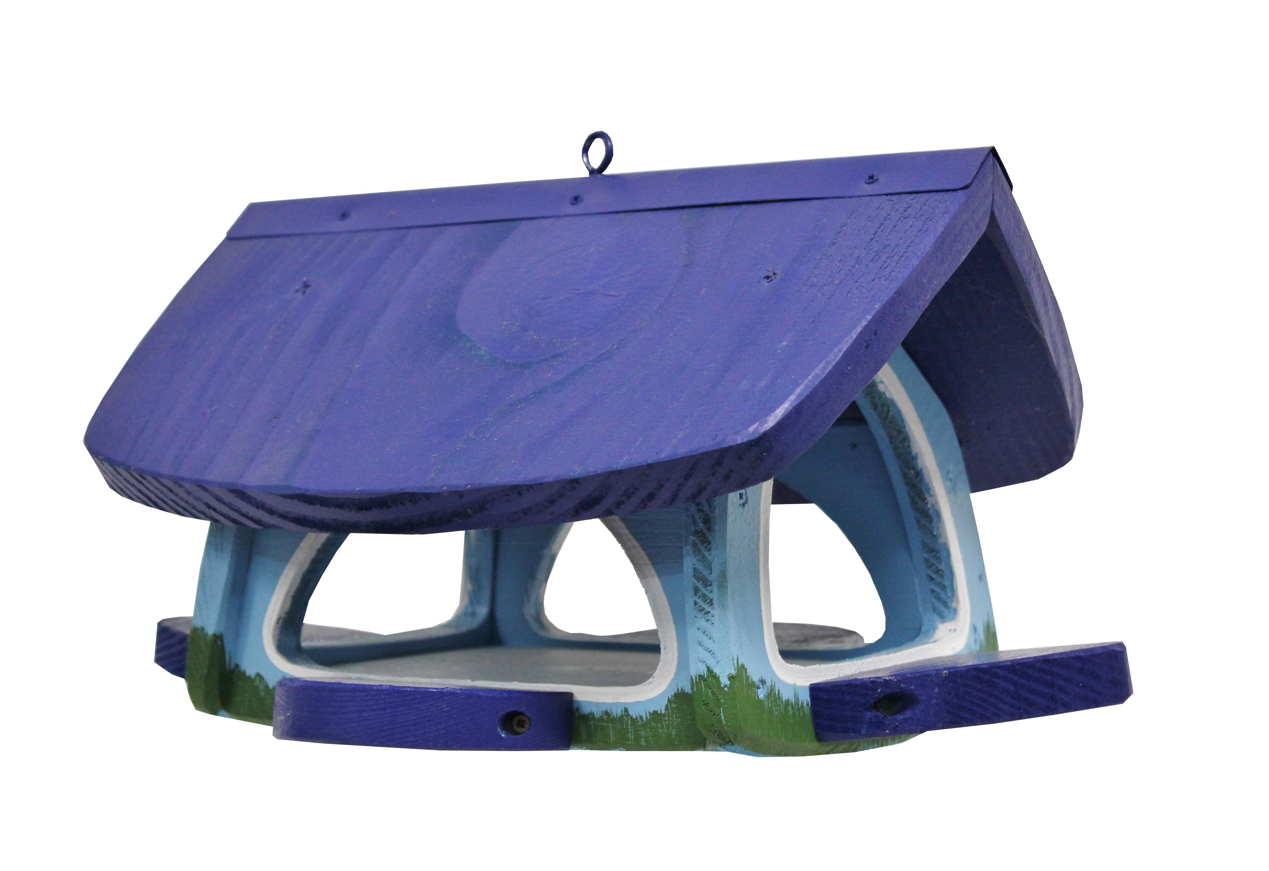 Futterscheune blau von Die Vogelvilla