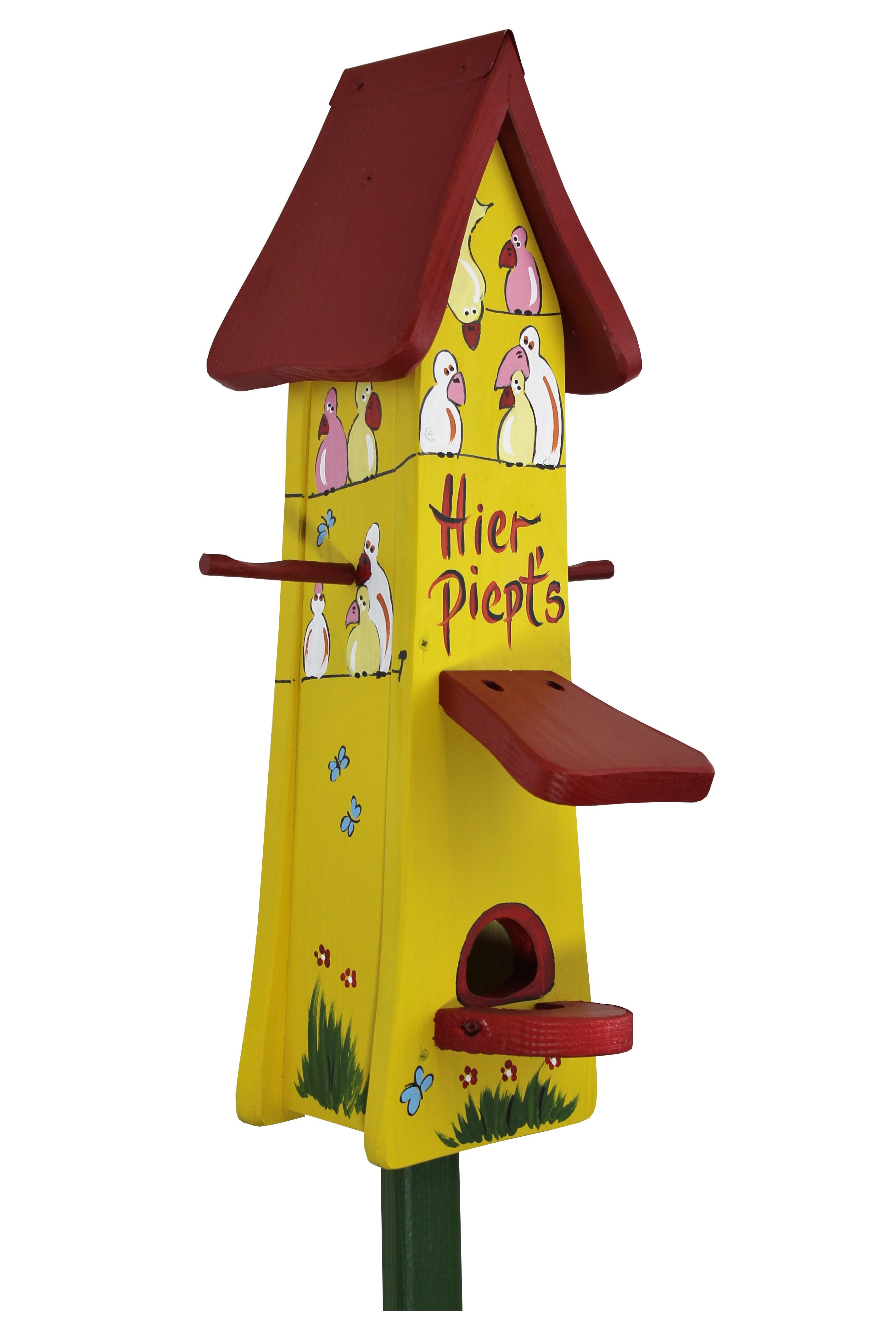 Hier piept's Futtertürmchen von Die Vogelvilla