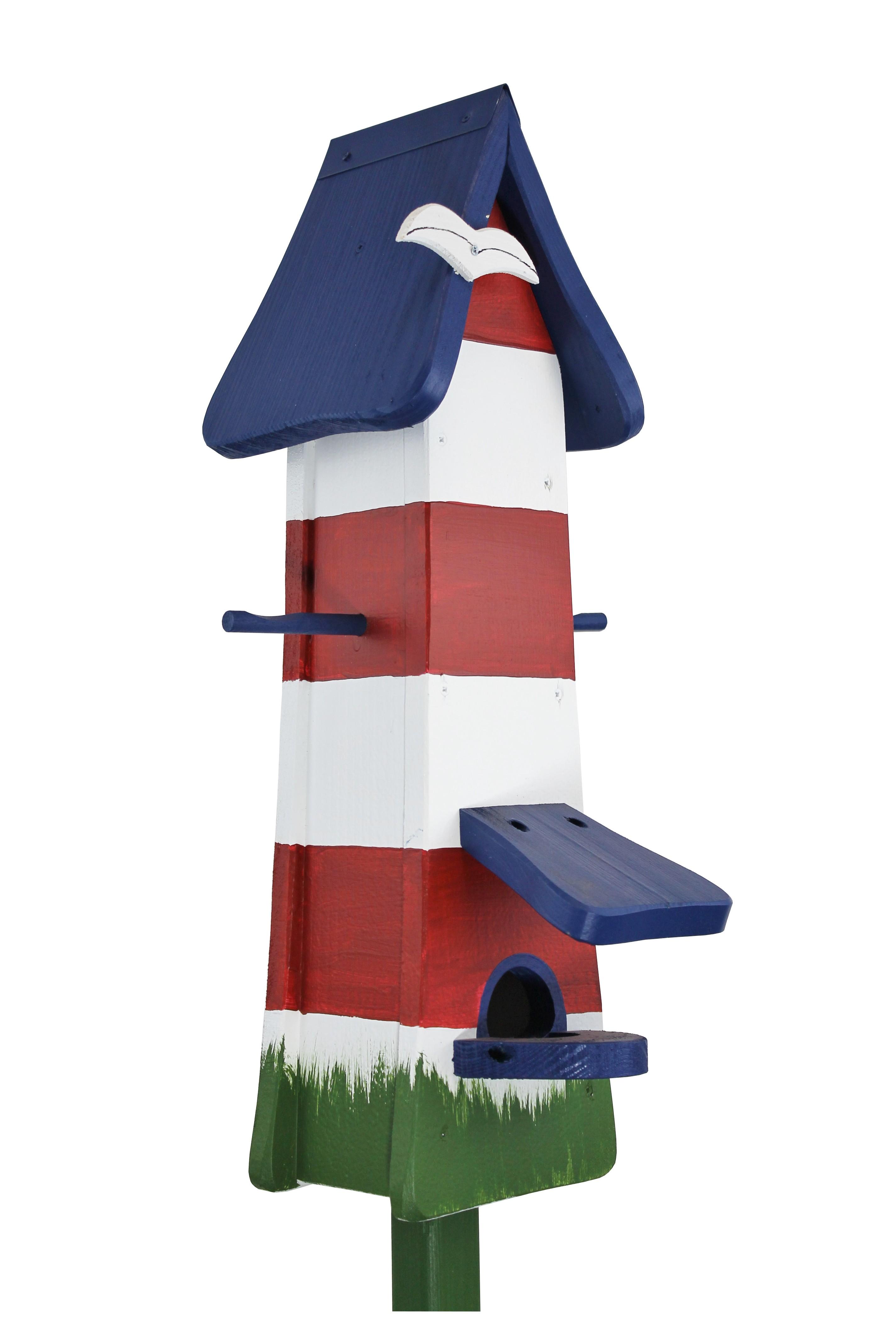 Leuchtturm Futtertürmchen von Die Vogelvilla