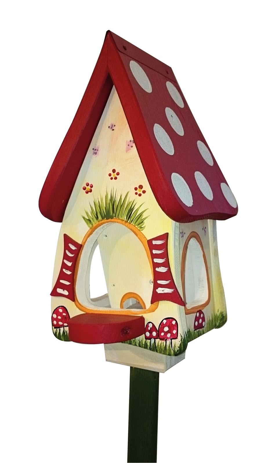 Waldhaus Futtervilla Mini von Die Vogelvilla