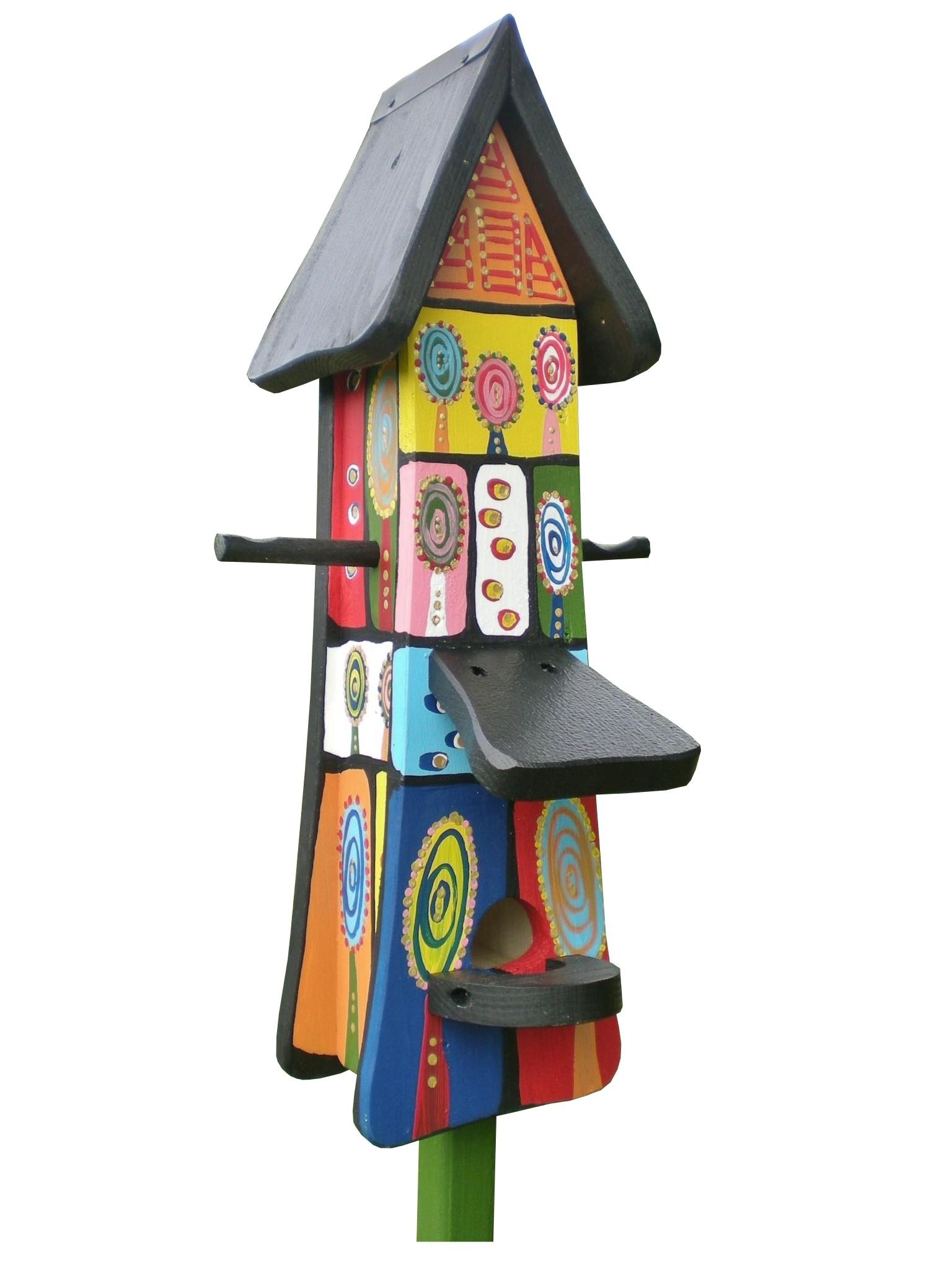 Futtertürmchen Vogelvillahaus von Die Vogelvilla