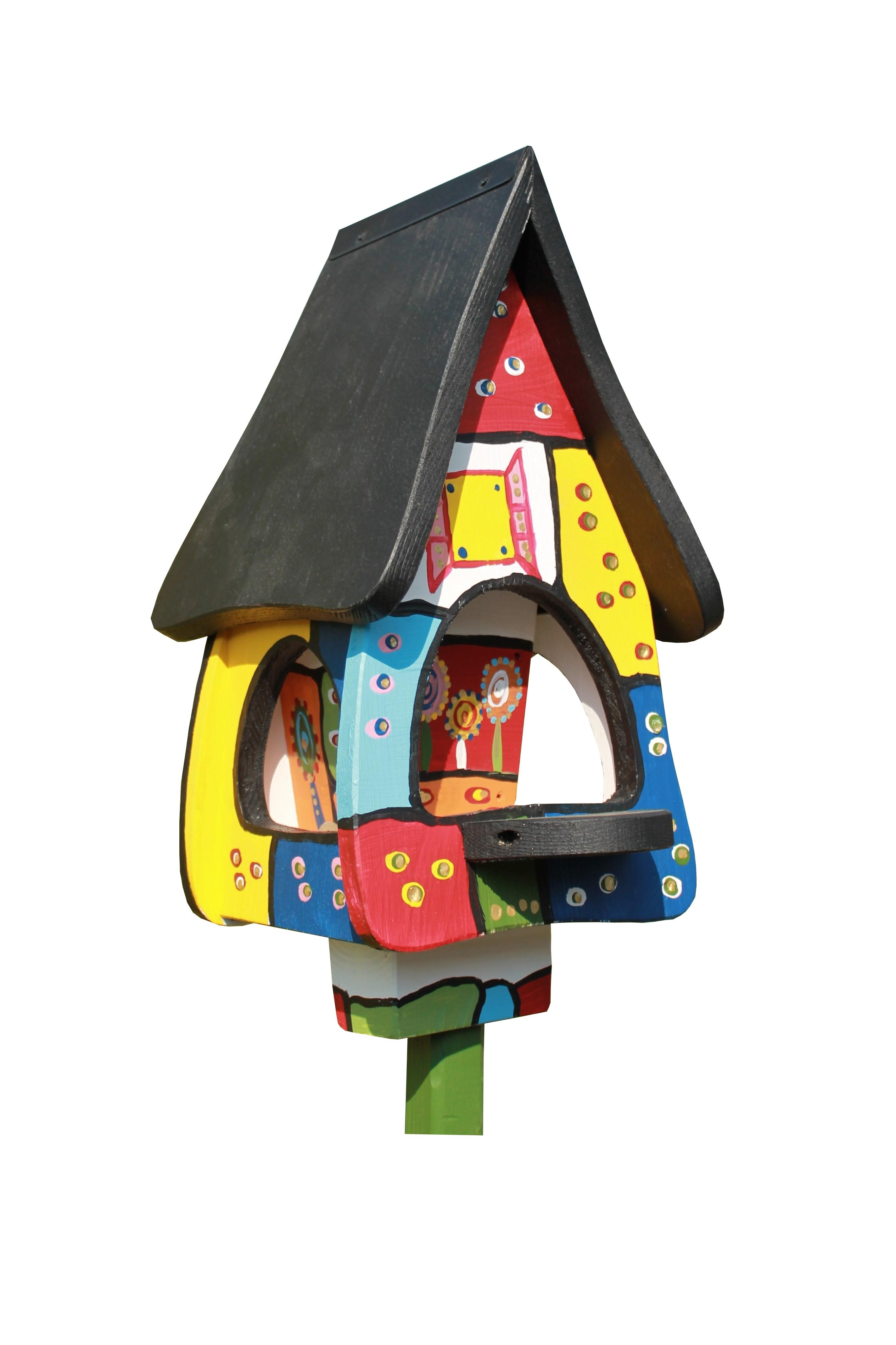 Vogelvillahaus Futtervilla klein von Die Vogelvilla