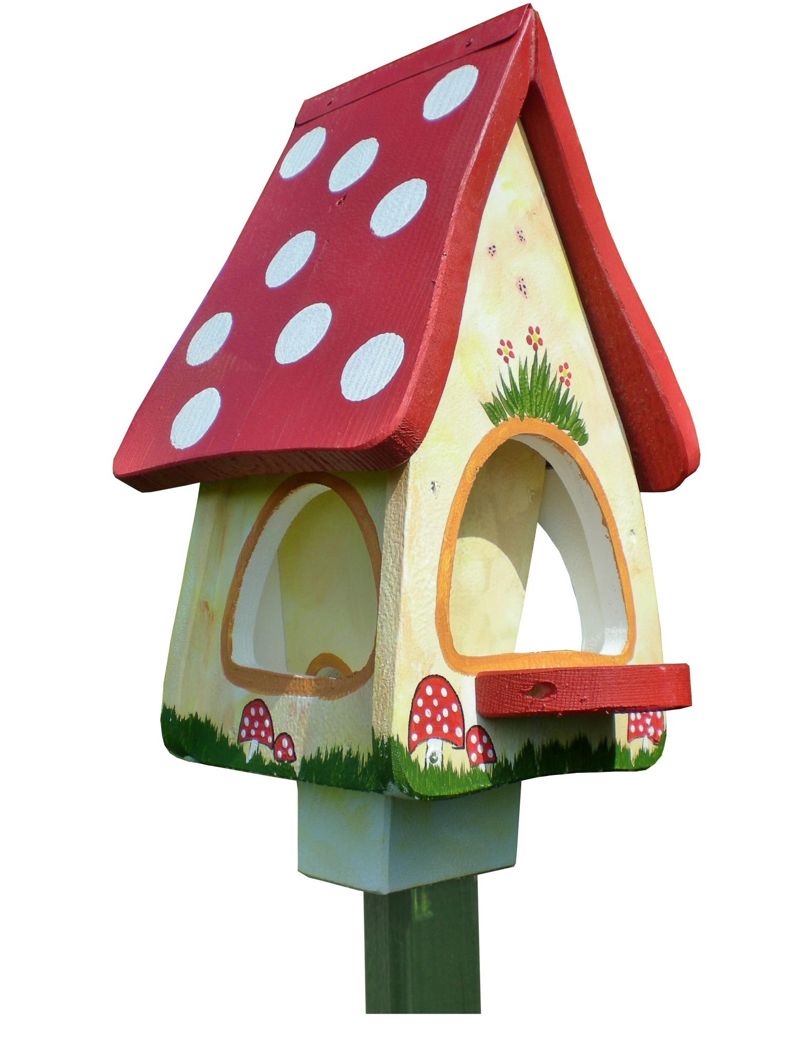 Futtervilla Waldhaus von Die Vogelvilla