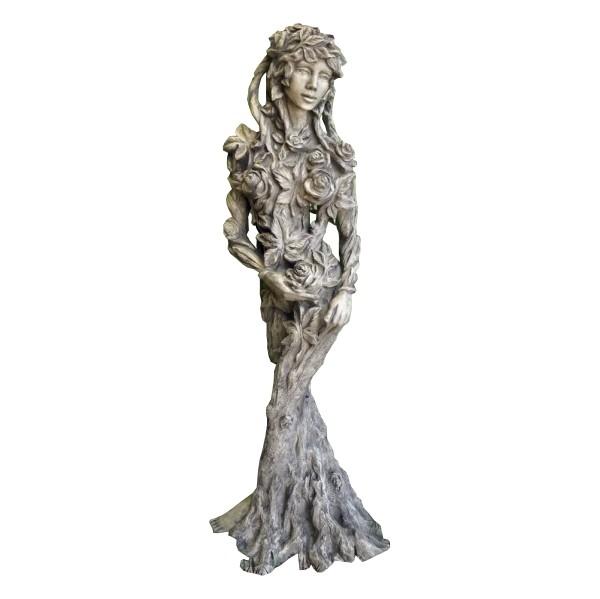 Skulptur Königin der Natur Ada Steinguss 165cm 150 Kg