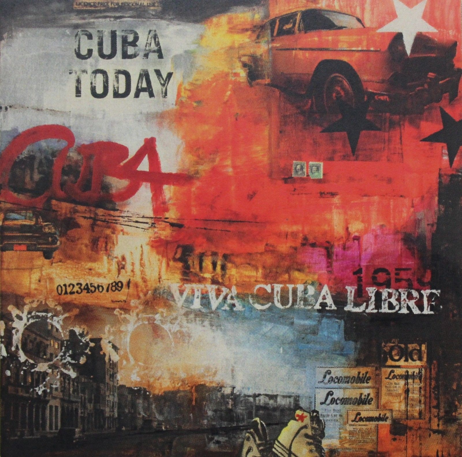 Kunstdruck & Original Malerei Havanna Cuba Today