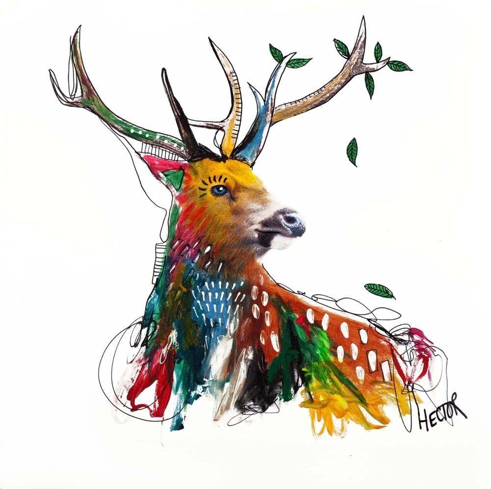 Kunstdruck & Original Malerei Deer