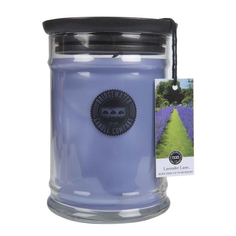 Duftkerze Lavender Lane groß 524g Bridgewater Candle