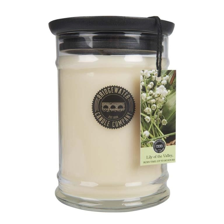 Duftkerze Lily of the Valley groß 524g Bridgewater Candle
