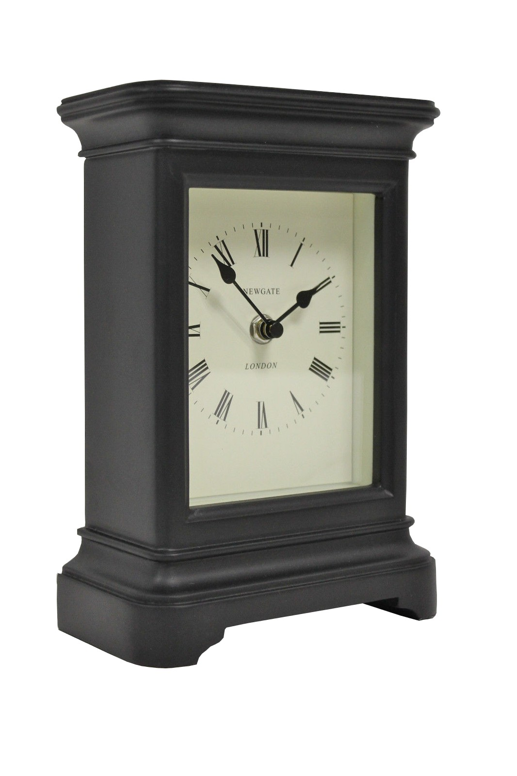 Uhr Manteluhr Library black
