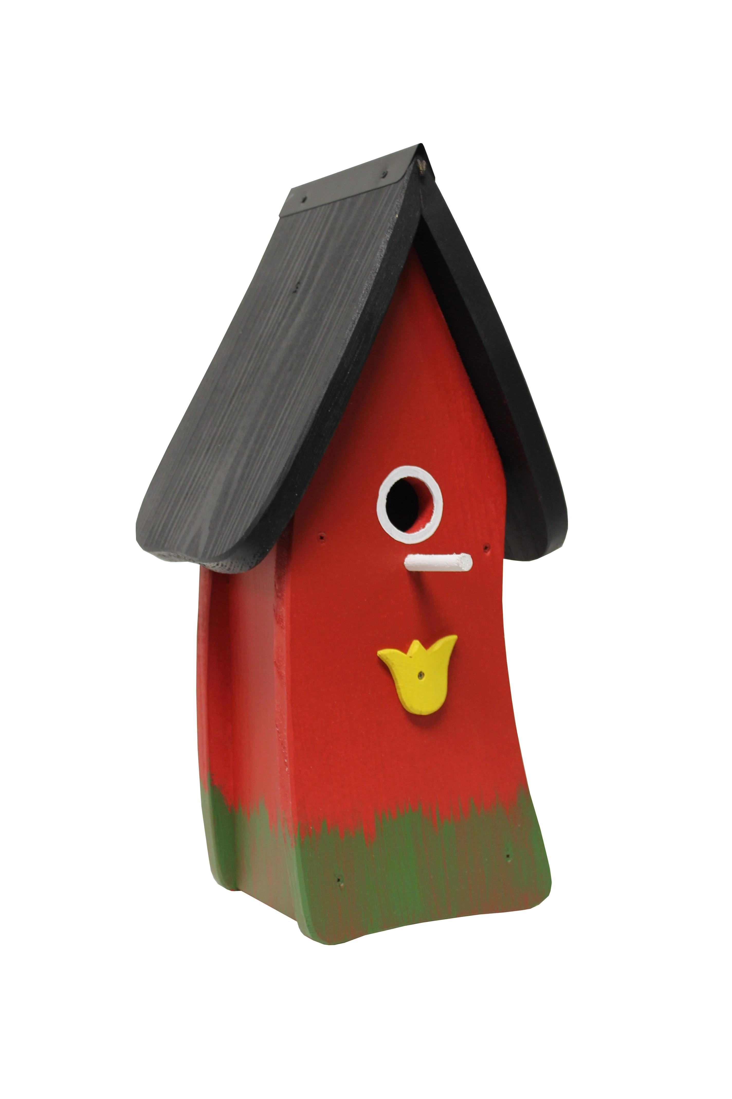 Tulpe rot Nistkasten von Die Vogelvilla