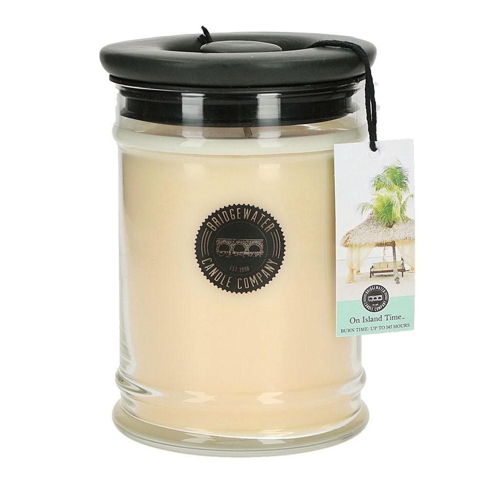Duftkerze On Island Time groß 524g Bridgewater Candle